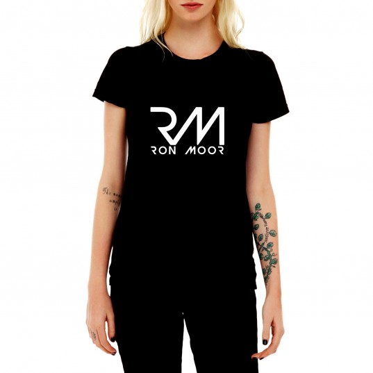 T-shirt Ron Moor Black Woman